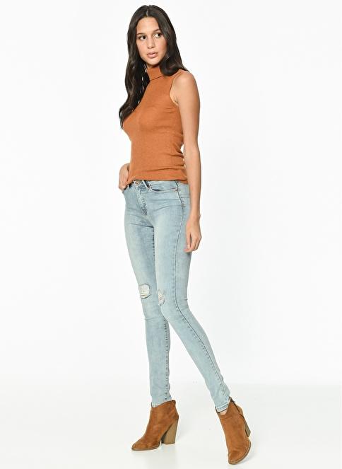 Vero Moda Jean Pantolon | Seven - Super Slim Mavi